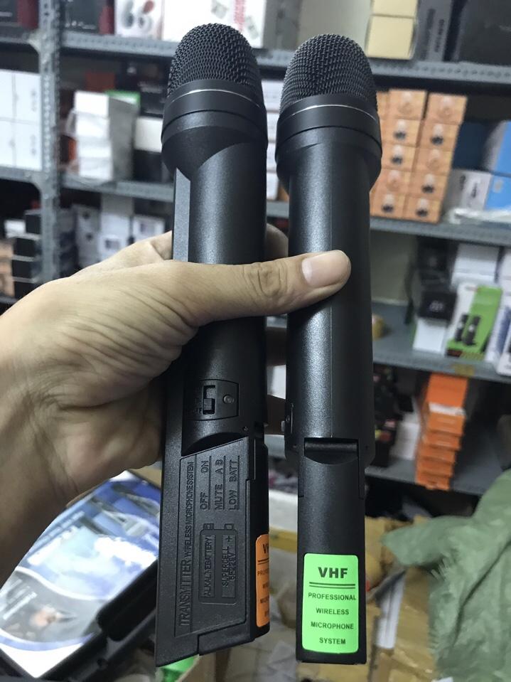 Bộ 2 micro không dây Pioneer AT202, Mic karaoke PIONEER AT202 2 mic