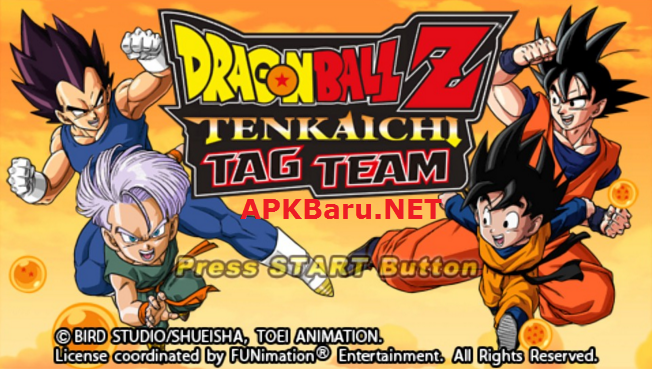 Dragon Ball Z: Tenkaichi Tag Team (TTT) MOD Ultra V6 With PPSSPP