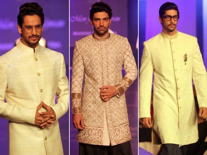 men wear pathani, eid 2014 men collection