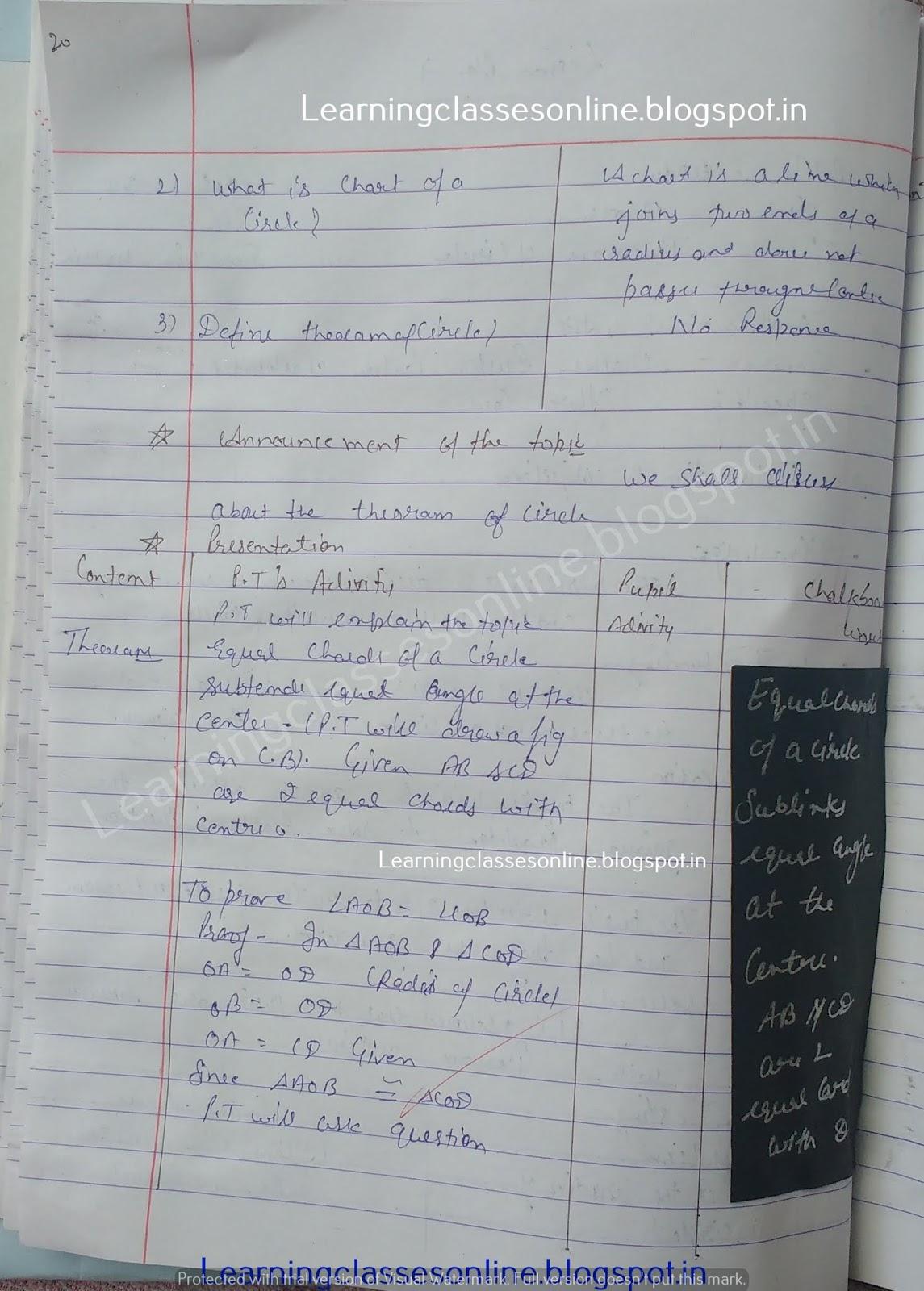 Semi Detailed Lesson Plan In Math Grade 9,