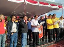 386 Aparat Gabungan TNI POLRI Sukses Amankan Deklarasi Kampanye Damai