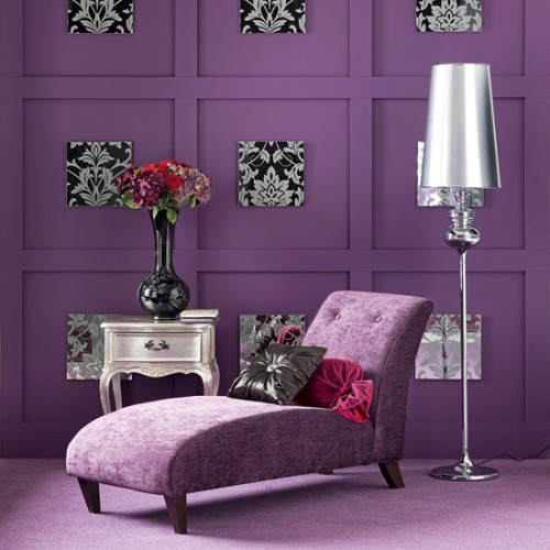 Purple Living Room: A Passion For Purple~ Inspirations