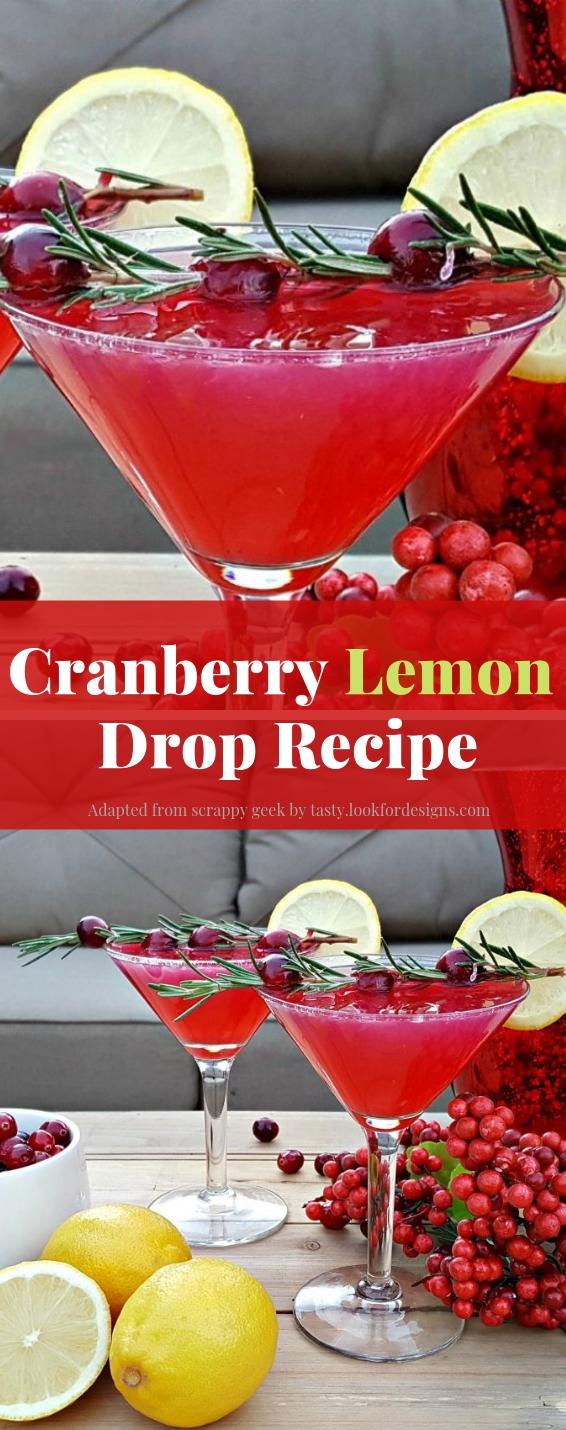 Cranberry Lemon Drop Recipe