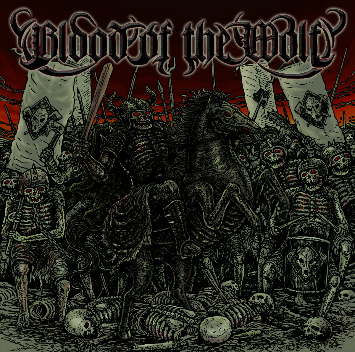 BLOOD OF THE WOLF - New song presented, and details of the