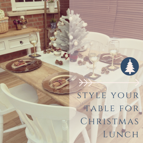 Style your table for Christmas Lunch