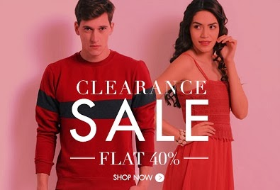 Clearance Sale: Flat 40% Off + Extra 30% Off on Branded Clothing & Footwear at Myntra