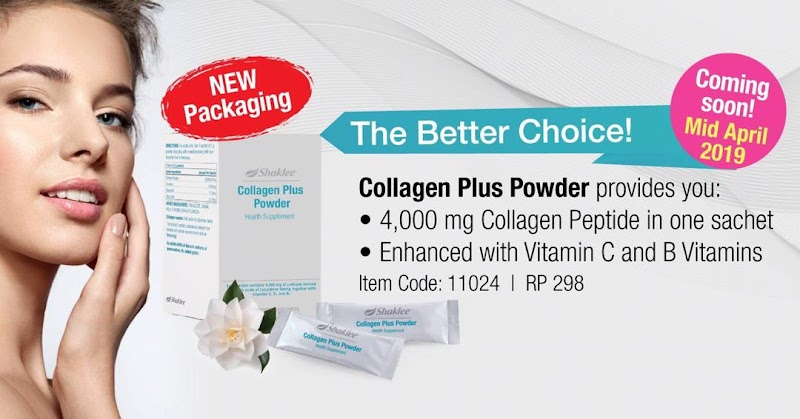 Collagen Shaklee Coming Soon Mid of April