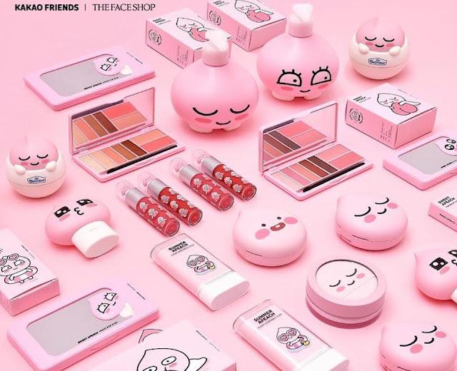 (K-beauty) Quand The Face Shop rencontre Kakao Friends !