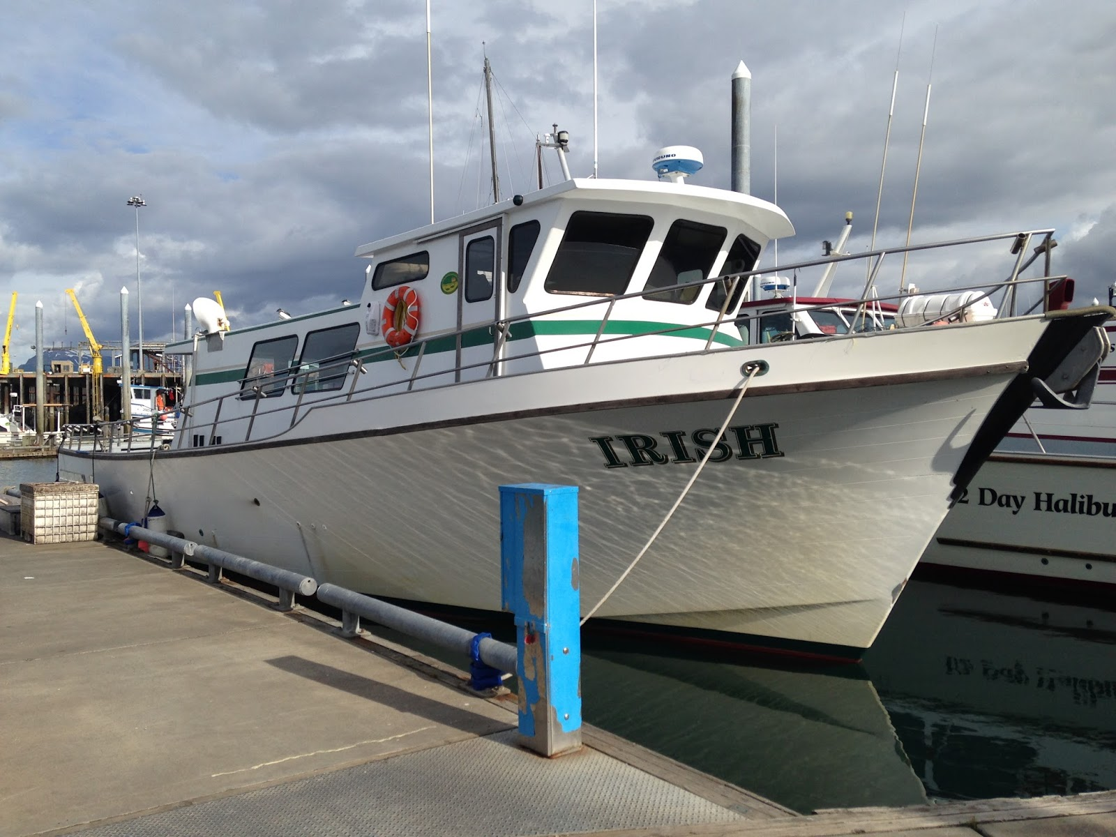 meng's travels: halibut fishing