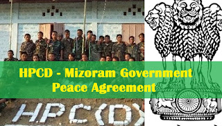 Mizoram Govt, Hmar outfit to sign peace pact on April 2