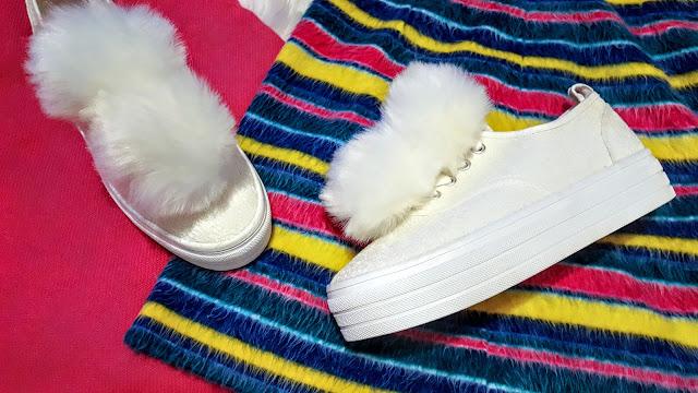 white sneaker trend