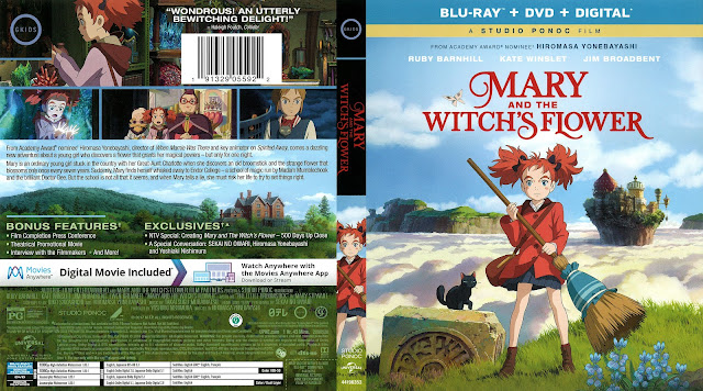 Mary and the Witch's Flower Bluray Cover