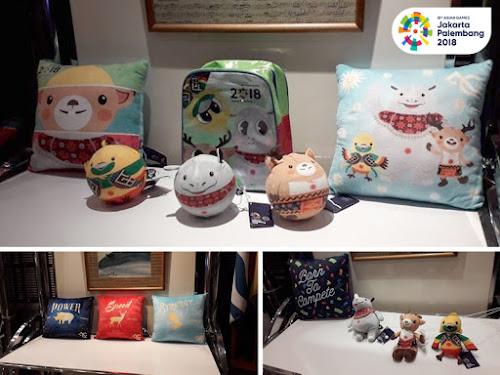 Lokasi penjualan souvenir Asian Games 2018