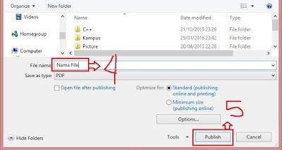 Cara Mengubah File Ms. Word ke PDF dengan Cepat dan Mudah