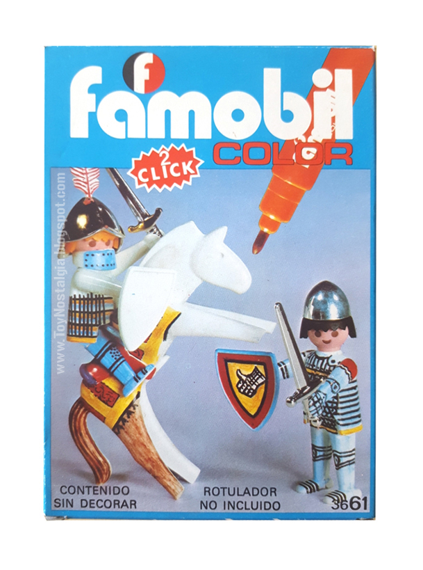Famobil COLOR 3661 -  Caballeros Playmobil COLOR