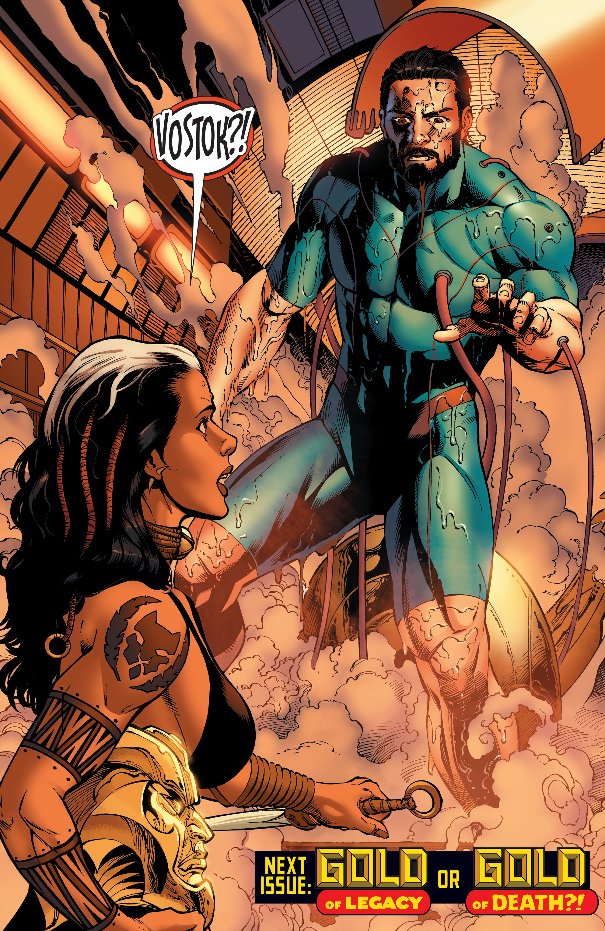 Read online Aquaman and the Others comic -  Issue #4 - 20