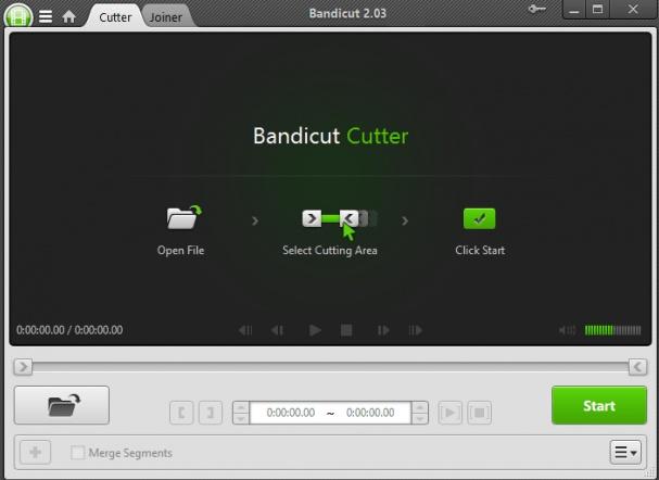تحميل برنامج تقطيع وقص الفيديو Bandicut