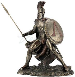www.fertilmente.com.br - Soldados Espartanos formaram a elite de guerra do mundo antigo