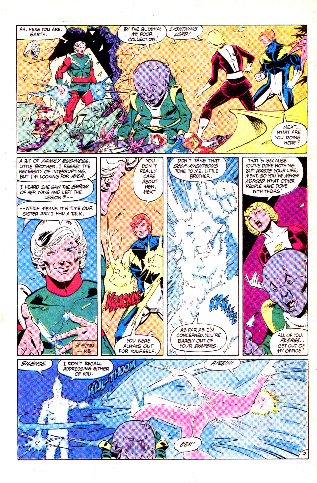 Legion of Super-Heroes (1980) 302 Page 13