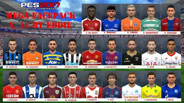 New Facepack PES 2017