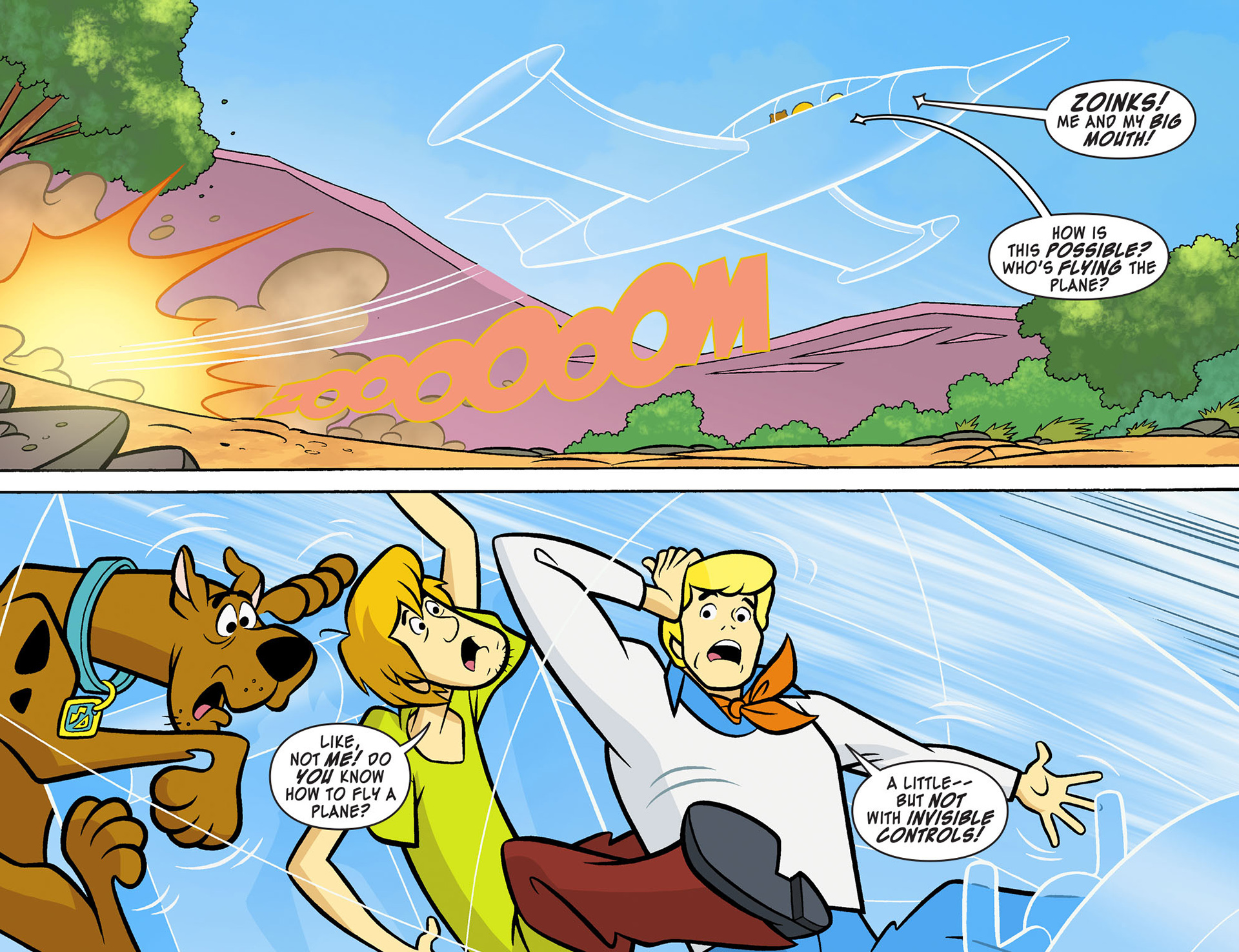 Read online Scooby-Doo! Team-Up comic -  Issue #10 - 5