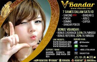 Situs Judi Poker Online Terpercaya Se-Indonesia VBandar.net - www.Sakong2018.com