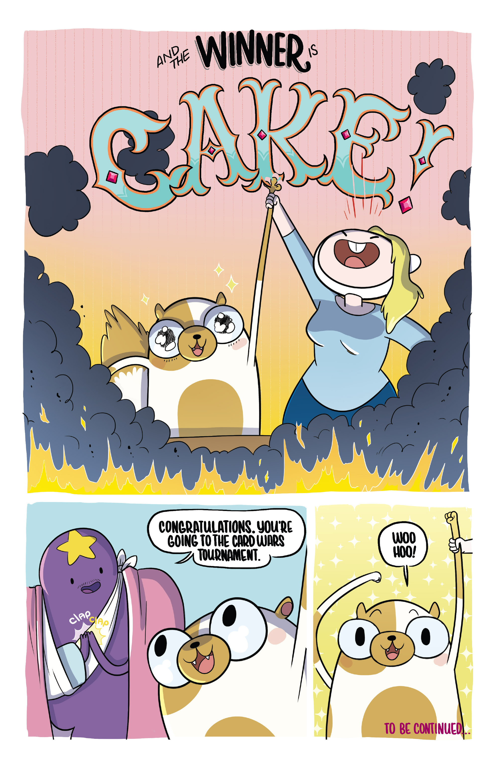 Read online Adventure Time Fionna and Cake Card Wars comic -  Issue #2 - 22