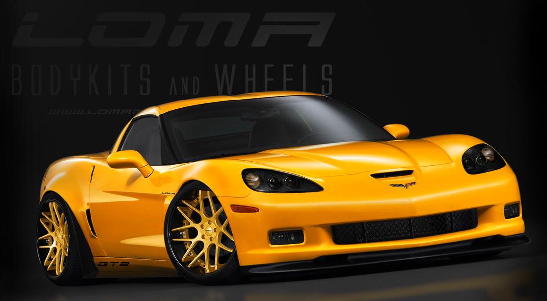loma motorsports chevrolet corvette gt2 widebody. Black Bedroom Furniture Sets. Home Design Ideas