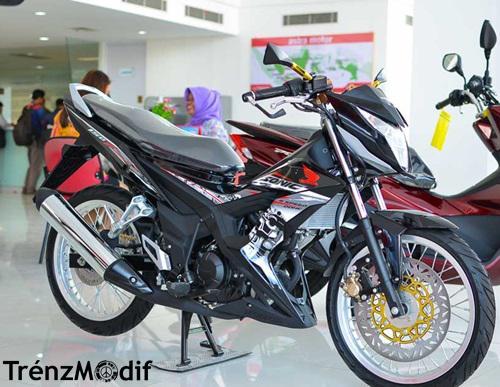 Honda Sonic 150R Jari Jari