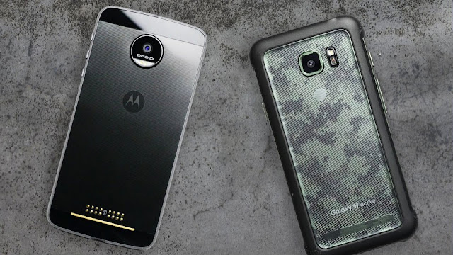 Motorola Moto Z Force vs Samsung Galaxy S7 Active: Unfair Drop Test