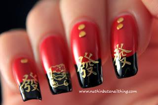 chinese nail art
