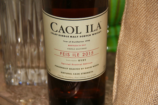 Continuing our vicarious trip to Islay - Caol Ila Feis Ile 2015!!!