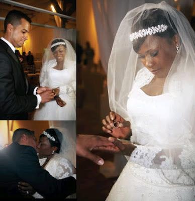 Image result for Uche Jombo wedding