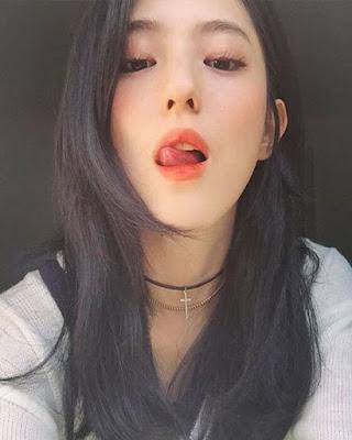 foto tumblr coreana sensual