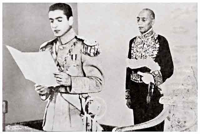 Mohammad Reza Pahlavi is inaugurated as Shah of Iran 17 September 1941 worldwartwo.filminspector.com