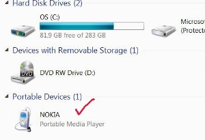 how to transfer music from PC to Nokia 300 tutorial