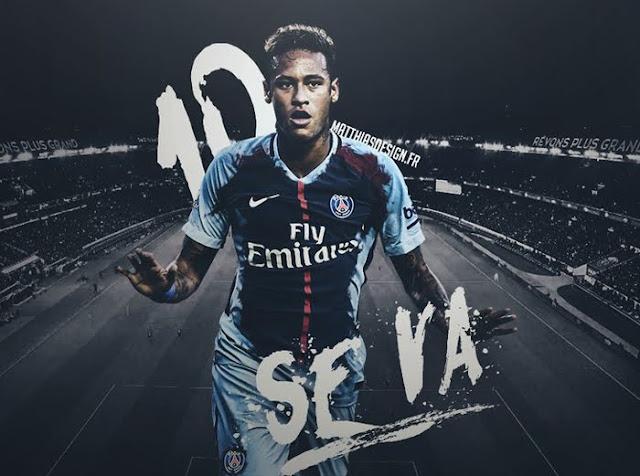 Neymar sẽ có được số áo số 10 của Javier Pastore