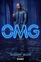 American Gods Series Poster Ricky Whittle