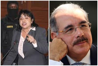 Marlín Martínez dijo que si Danilo medina   permite que le aumente la condena de 5 años de prisión hablará al país todo lo que ella sabe y todo los funcionarios corrupto de su gobierno caerán preso