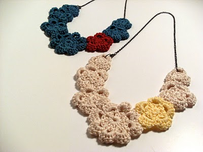 Celebrate Spring With Asymmetric Flower Necklace Tutorials The