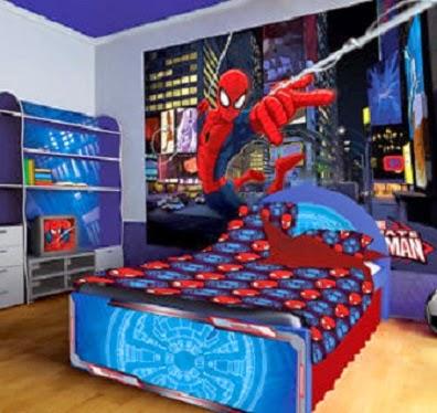 Dormitorios del hombre ara a dormitorios colores y estilos for Dormitorio super heroes