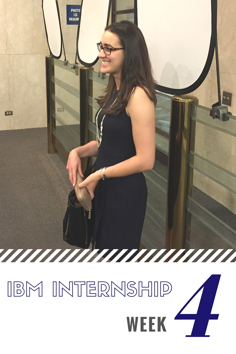 IBM Sales Internship Week 4