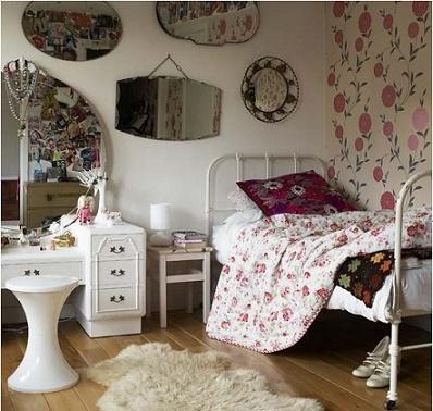 Dormitorios vintage para chicas adolescentes dormitorios Recamaras estilo vintage