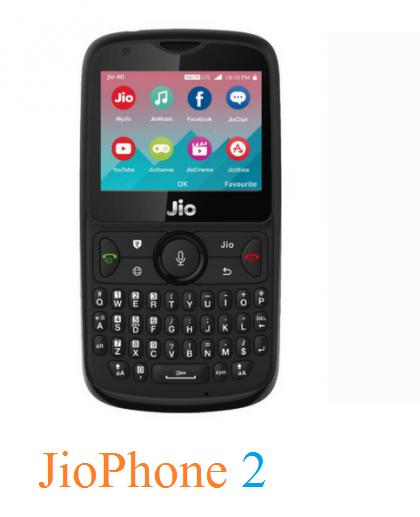 JioPhone 2 QWERTY Keyboard के साथ हुआ Launch. WhatsApp और Facebook को करता है Support