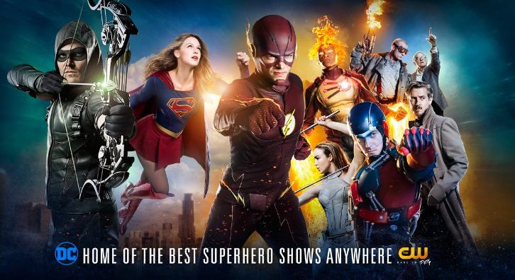 DC on The CW - Promotional Key Art