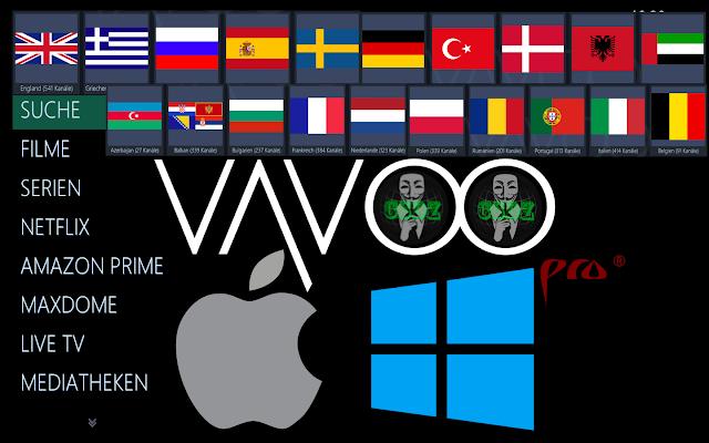 Vavoo Pro gratuit sur Windows et MacOs