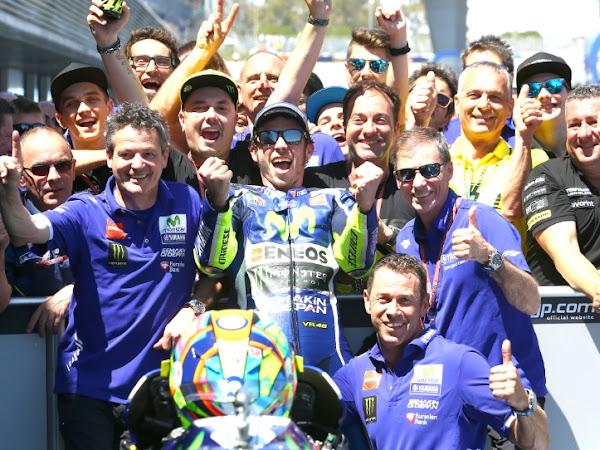 MotoGP Jerez, Rossi Juara, Lorenzo Kecewa