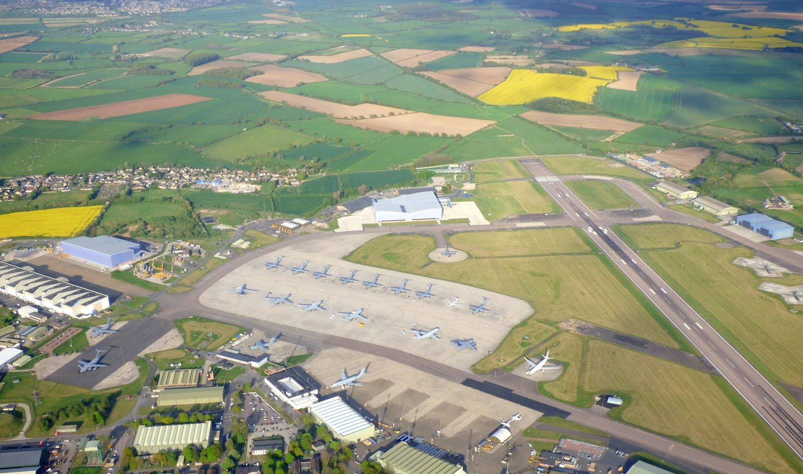 Brize from Above