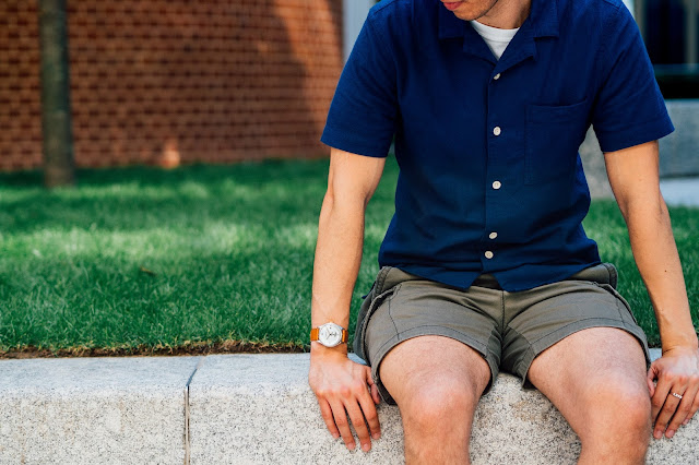 swiss made mens watch by farer, tailored cargo shorts