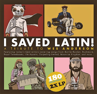 Wes Anderson : American Laundromat Records Announce Vinyl Release of 'I Saved Latin! A Tribute to Wes Anderson'